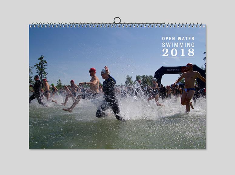 Open Water Kalender 2018 von Mirko Groß
