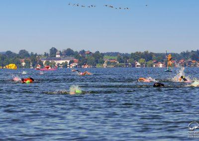 Chiemsee Langstreckenschwimmen 2021, Foto: Günther Zipprick